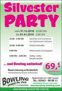 Silvesterparty 2018 DINFormat