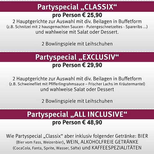Partyspecials